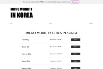 Micro Mobility in Korea