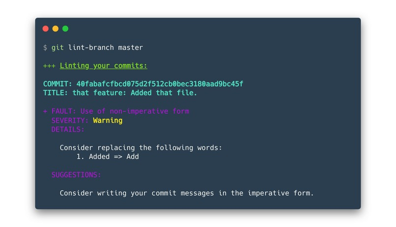 git-lint-branch – screenshot 3