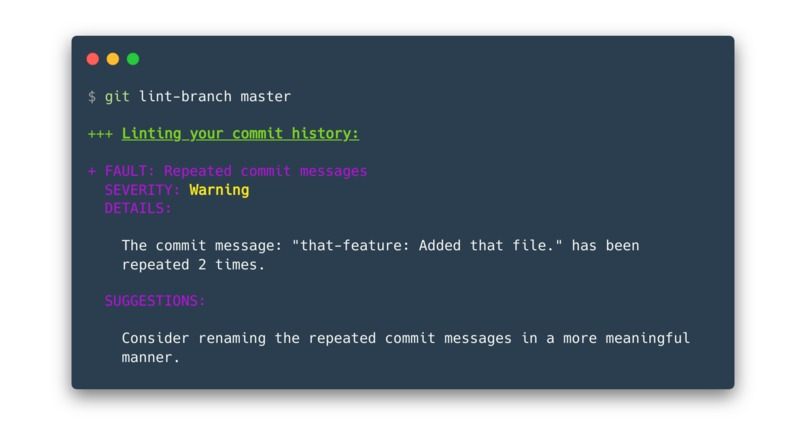 git-lint-branch – screenshot 6