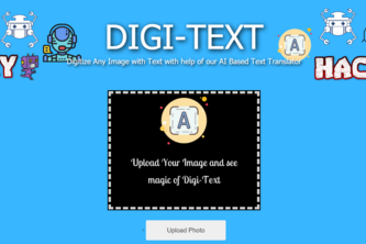 Best Solo Hack- Machine Learning/AI - Digi-Text