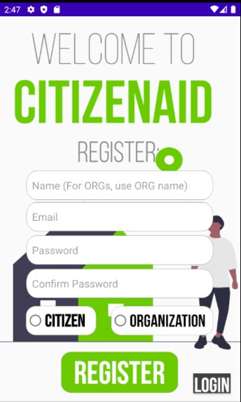 CitizenAid – screenshot 3