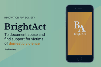 BrightAct app againt domestic violence