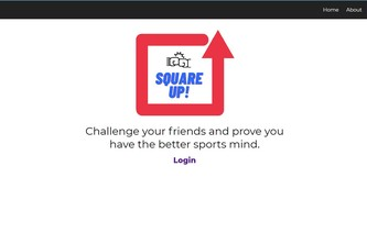 SquareUp Sports - Sports & Entertainment - Team 03