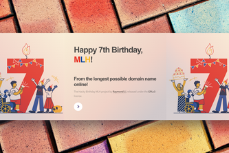 Happy Birthday MLH, from the longest domain name online!