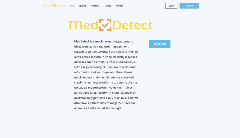 Med Detect – screenshot 1