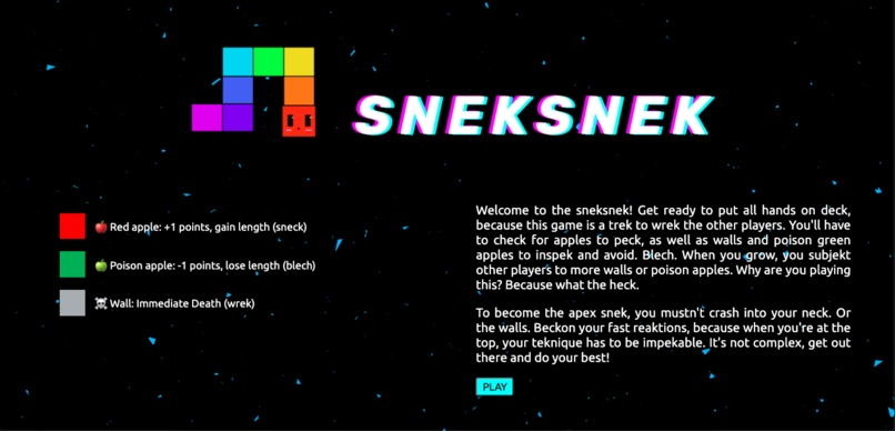 sneksnek – screenshot 2