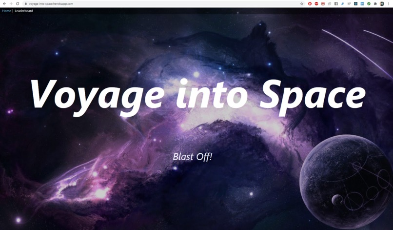 Voyage into Space – screenshot 1