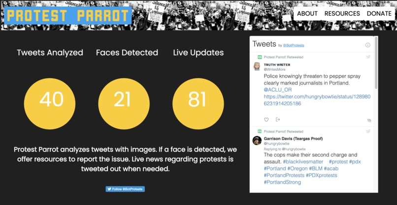 Protest Parrot – screenshot 1