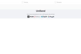 Unisend - Send money internationally for free