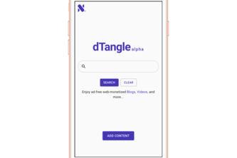 dTangle - Web Monetized content discovery platform