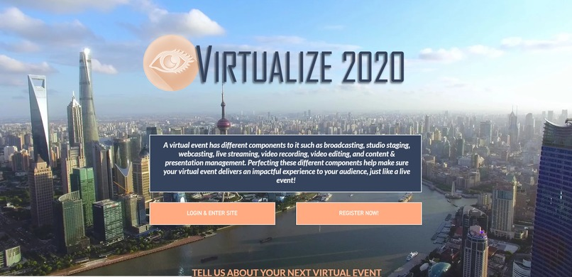Virtualized Events – screenshot 1