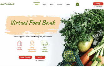 Virtual Food Bank