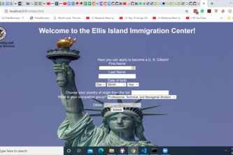 Ellis Island Immigration Automation