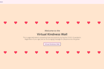 Virtual Kindness Wall