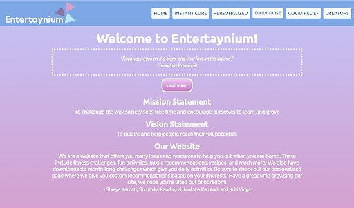 Entertaynium – screenshot 1