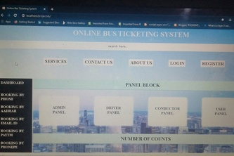 Online Bus Ticket System Anywhere