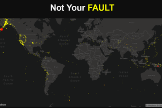 Not Your Fault: An Earthquake Tracker