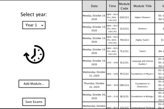 Hackathon Examination Scheduler