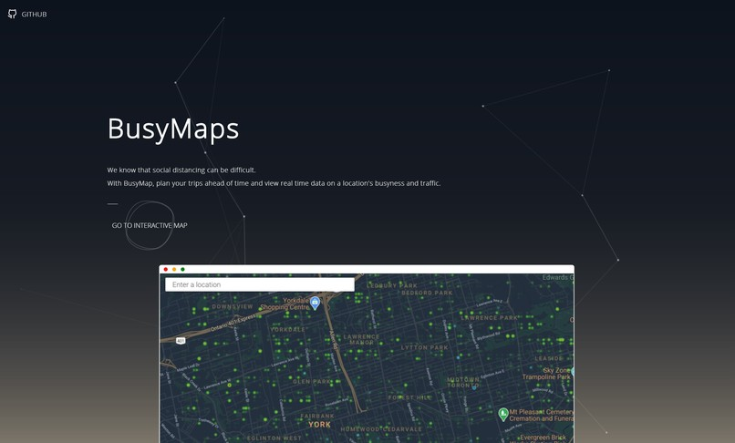 BusyMap – screenshot 1