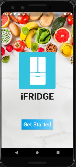 iFridge – screenshot 1