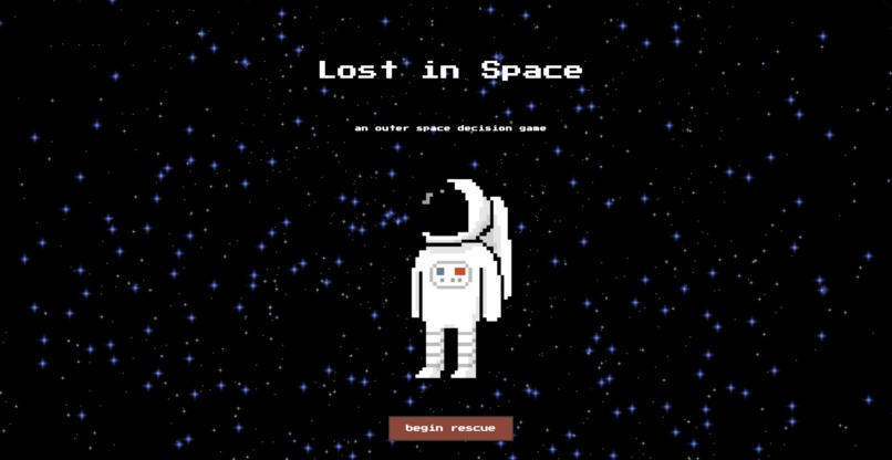 Lost in Space – screenshot 1