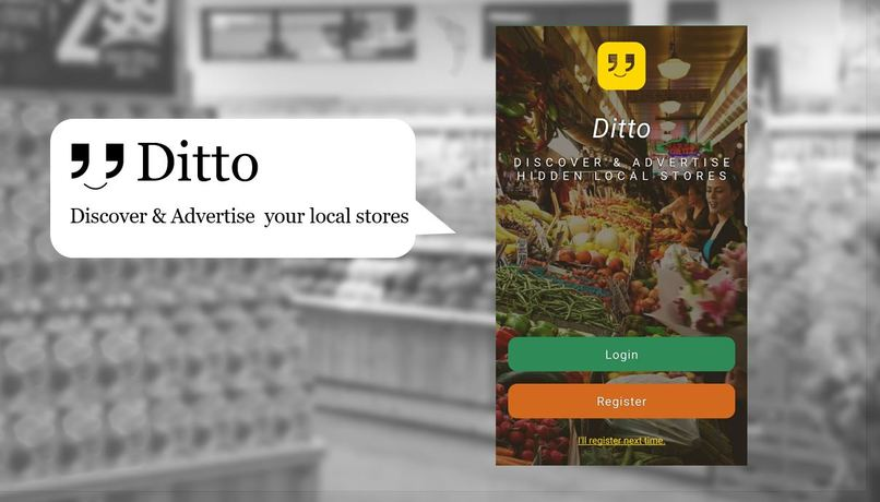 Ditto: Discover & Advertise hidden local stores – screenshot 1