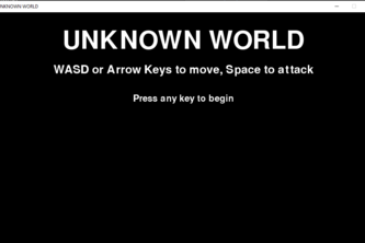 Unknown World