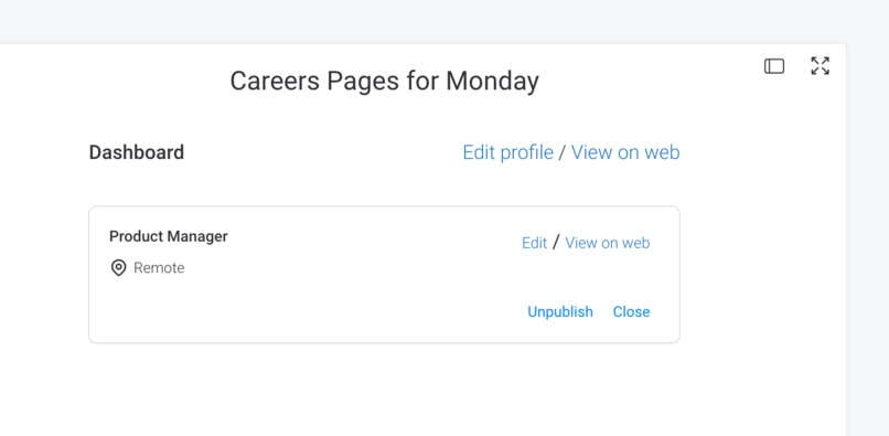 CareersPages for Monday – screenshot 1