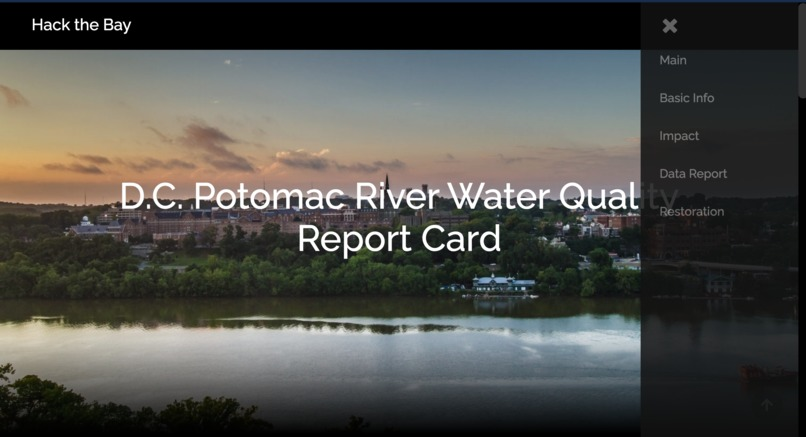 D.C Potomac River Report Card – screenshot 2