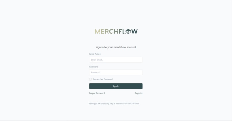 merchflow – screenshot 2