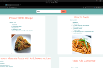 Recipe Retrival App