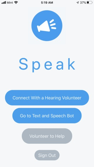 Speak – screenshot 1