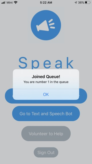 Speak – screenshot 2