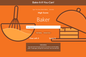Bake-It-If-You-Can!