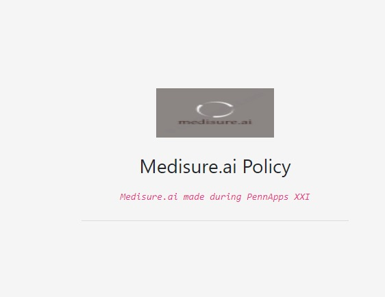 Medisure.ai – screenshot 2