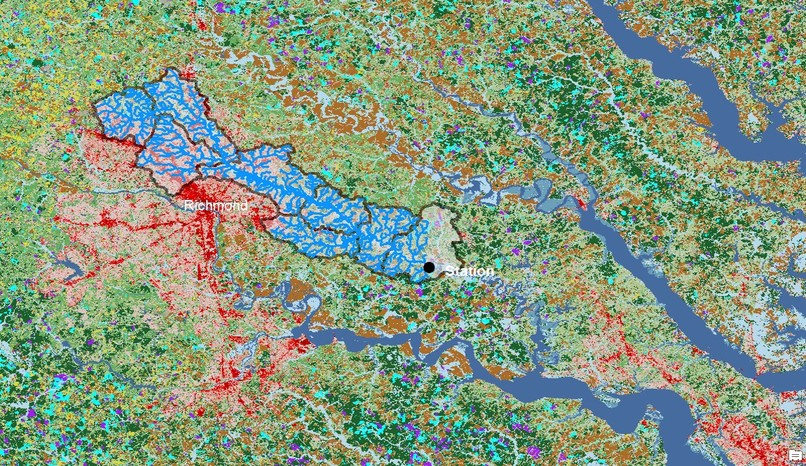 Effect of Land Cover on Pollution in Chesapeake Watershed – screenshot 6