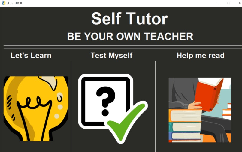 Self tutor – screenshot 1