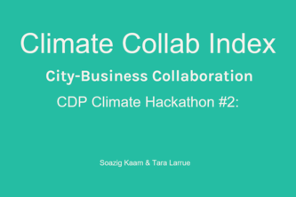 Climate Collab Index