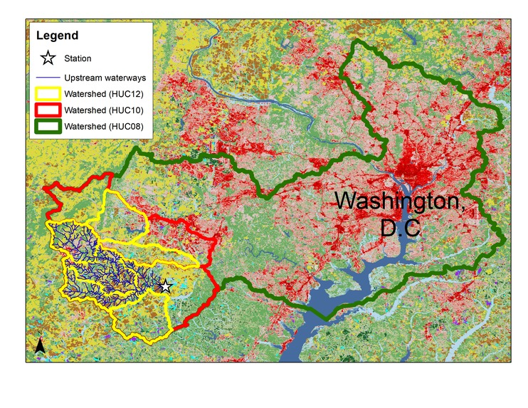 Effect of Land Cover on Pollution in Chesapeake Watershed – screenshot 5