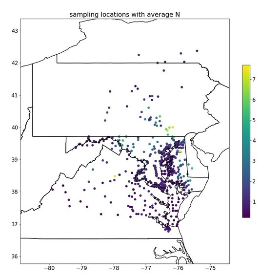 Effect of Land Cover on Pollution in Chesapeake Watershed – screenshot 4
