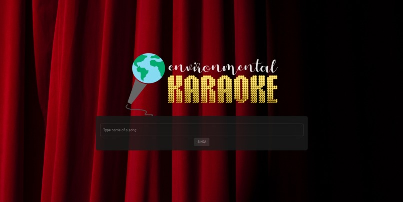Environment karaoke – screenshot 1