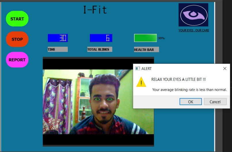 I-Fit (A Step towards Digital Eye Care ) – screenshot 1