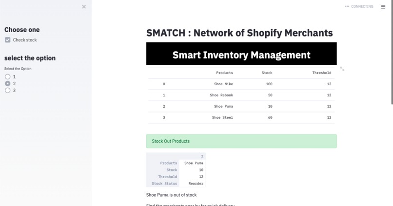 SMATCH : The merchant match maker – screenshot 4