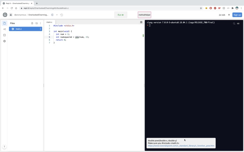 codeHelper – screenshot 3