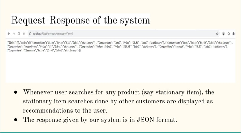 Product Recommendation System – screenshot 2