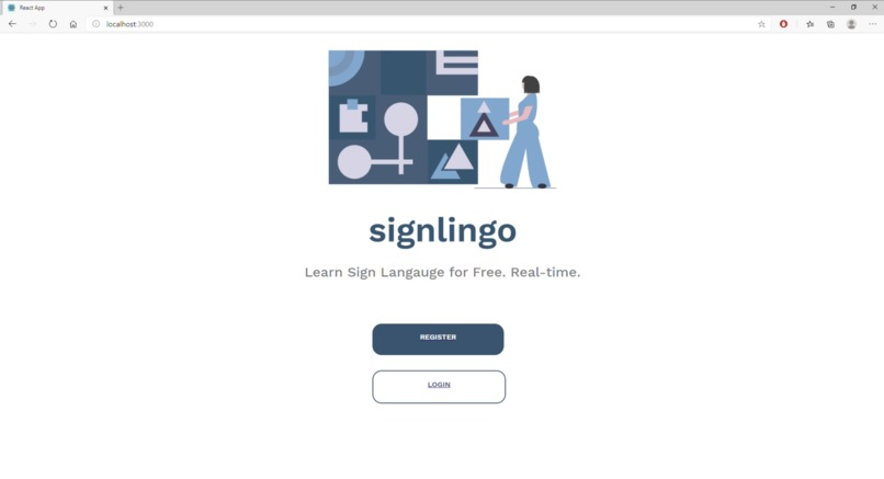 Signlingo – screenshot 1