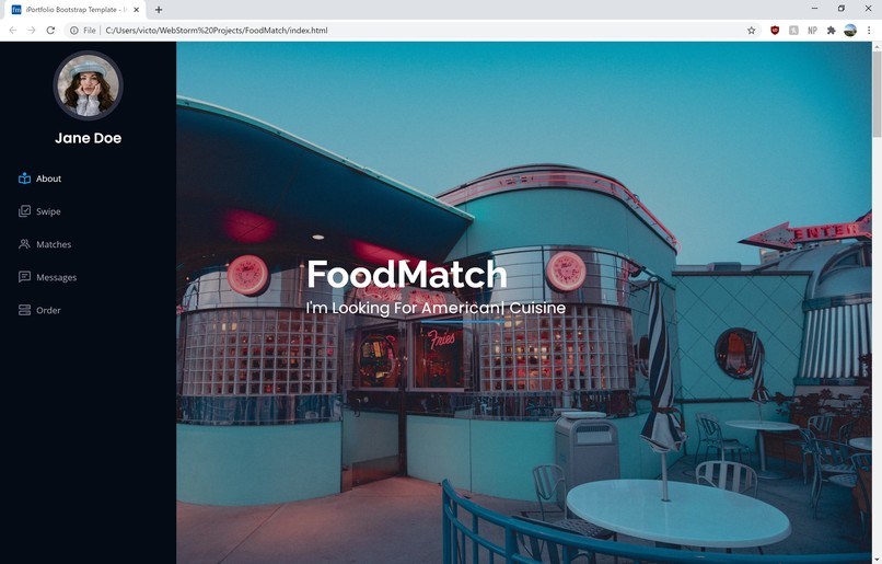 FoodMatch – screenshot 1