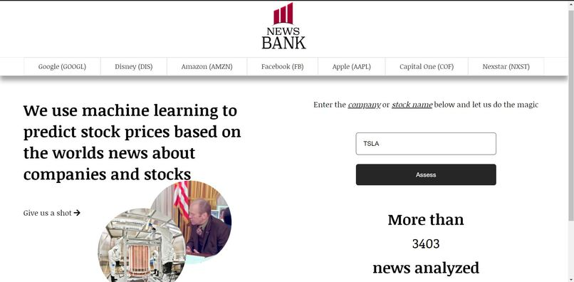 News Bank – screenshot 1