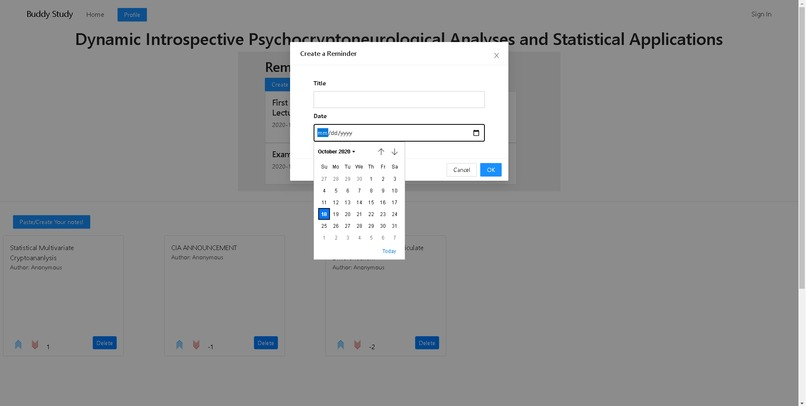 BUDDYSTUDY – screenshot 7