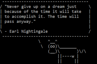 inspirational cow